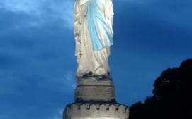 Mariabeeld avond